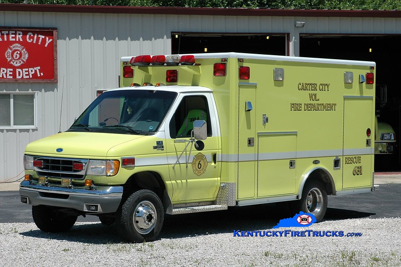 Carter City  Rescue 631<br /> x-Manchester, PA<br /> 1997 Ford E-350 4x4/E-One<br /> Greg Stapleton photo