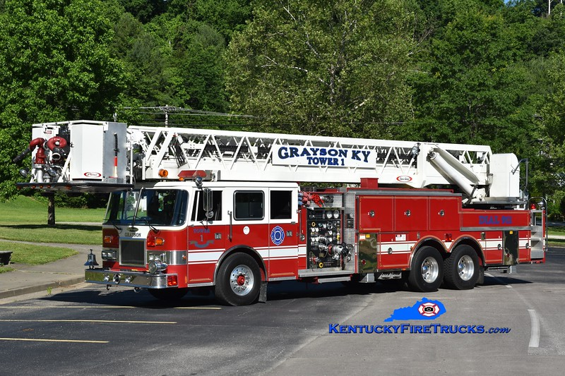 Grayson Tower 1 <br /> x-Danville, KY<br /> 1993 Pierce Arrow 1500/300/100'<br /> Greg Stapleton photo