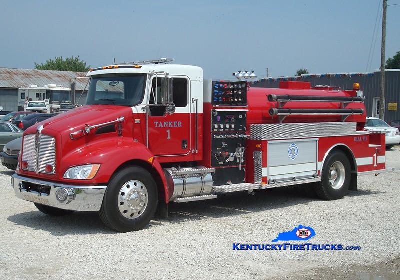 <center> Grayson  Tanker 1 <br> 2009 Kenworth T-300/Midwest Fire 500/2150 <br> Greg Stapleton photo </center>