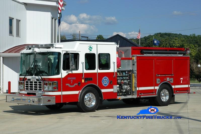 <center> Grayson  Engine 7 <br> 2012 HME/Ferrara Ember 1500/1000 <br> Greg Stapleton photo </center>