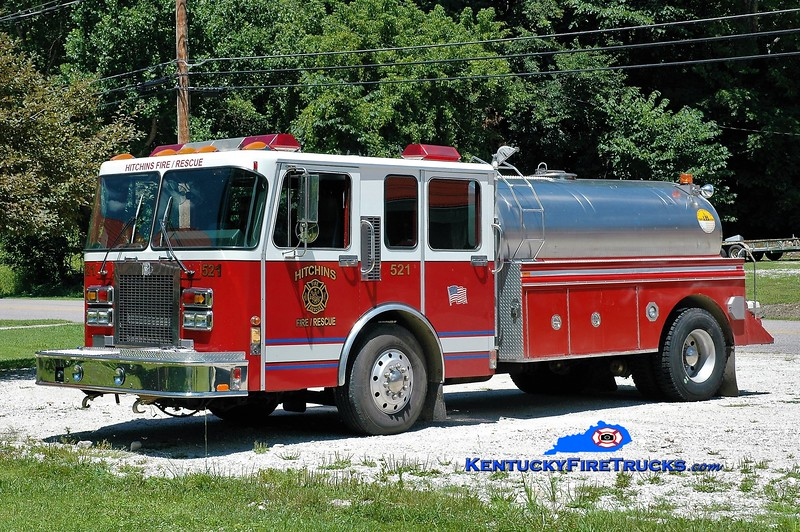 Hitchins  Tanker 521<br /> Chassis x-Livonia, MI<br /> 1994 Spartan/S&S/2017 E-Tankers 250/2000<br /> Greg Stapleton photo