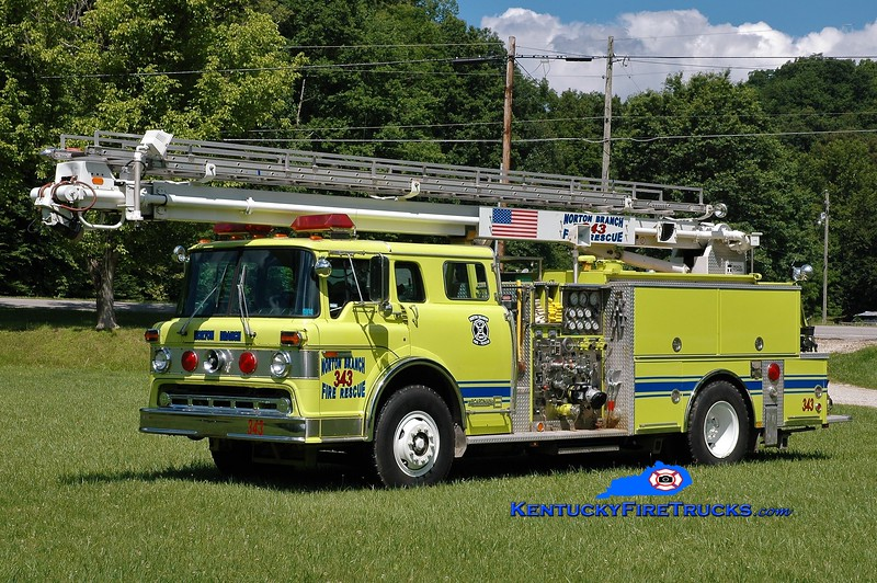 Norton Branch  Engine 343<br /> x-Ashland Marathon Oil, KY<br /> 1983 Ford C/Boardman/Readi-Tower 1250/500/55'<br /> Greg Stapleton photo