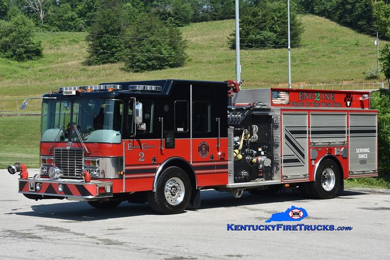 Olive Hill Engine 2 <br /> x-Bedford, VA<br /> 2000 HME/M&W 1500/1250<br /> Greg Stapleton photo