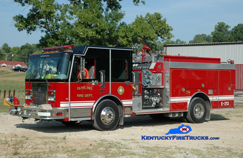 <center> Olive Hill  Engine 3 <br> 1999 Spartan Advantage/Smeal 1250/1000 <br> Greg Stapleton photo </center>