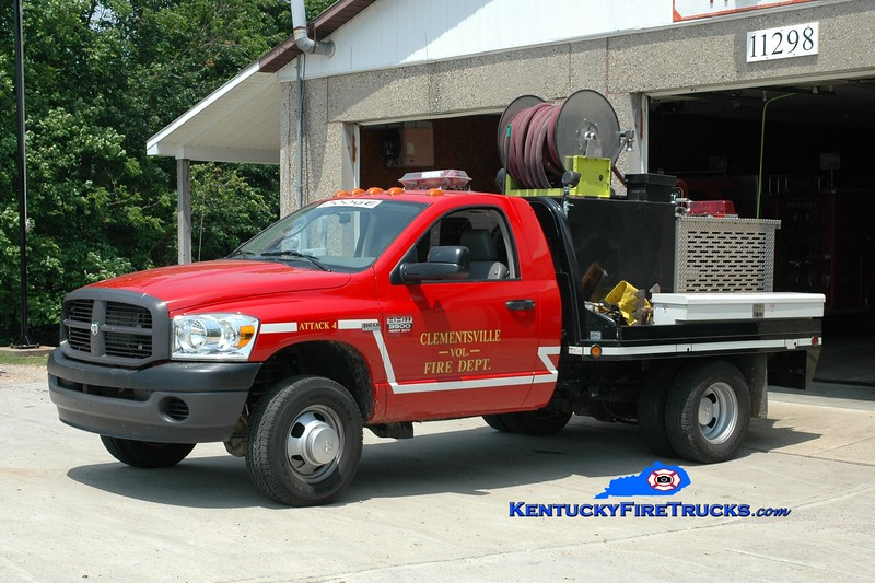 <center> Clementsville  Attack 4  <br> 2007 Dodge Ram 3500 4x4/CFD 250/250 <br> Greg Stapleton photo </center>
