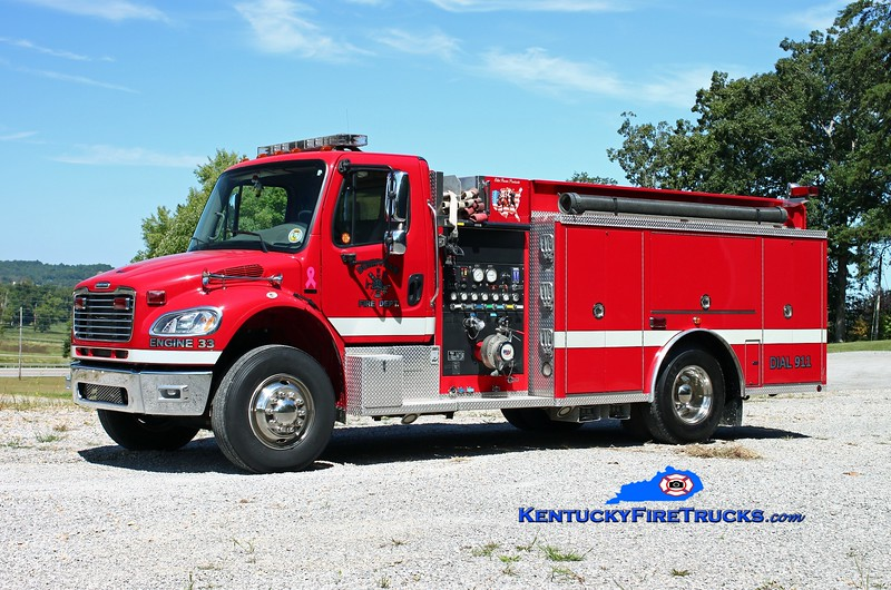 <center> Dunnville  Engine 33 <br> 2005 Freightliner M2-106/Elite Power Products 1250/1000 <br> Kent Parrish photo </center>