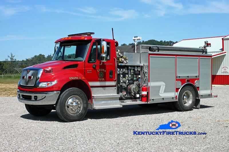 <center> Evona  Engine 15 <br> 2006 International 4400/Wynn 1250/1200 <br> Kent Parrish photo </center>