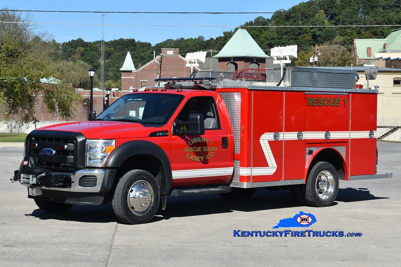 Liberty-Casey County Rescue Squad Rescue 1<br /> 2010 Ford F-550 4x4/1978 E-One <br /> Greg Stapleton photo