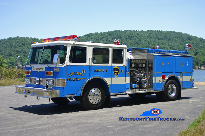 <center> Liberty  Engine 3<br> 1990 Pierce Arrow 1500/500 <br> Kent Parrish photo </center>