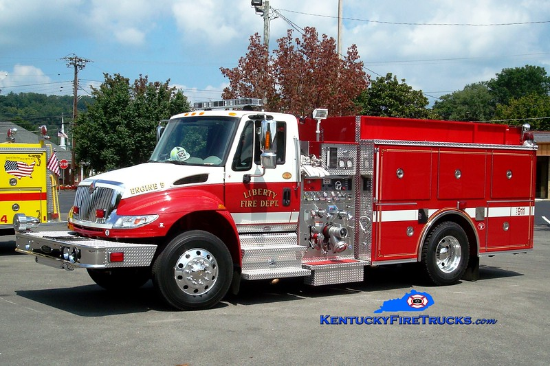 <center> Liberty  Engine 5 <br> 2007 International 4400/Pierce 1250/500 <br> Greg Stapleton photo </center>