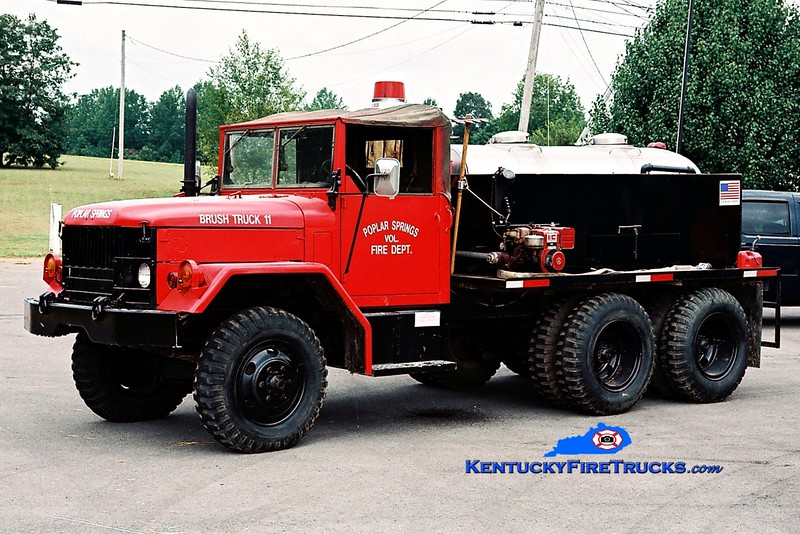 <center> Poplar Springs Brush 11 <br> x-US Army <br> 1980 AM General M109/Local 250/900 <br> Greg Stapleton photo </center>