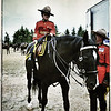 Casey at the RCMP Musical Ride