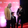 Danny Virtue and Casey Wright on the Vancouver Film Festival red carpet with ET Rick Campanelli