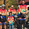 Jr member Casey Wright and the Cops for Cancer ride