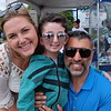 Charlotte and Sal with Casey