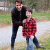 Actor Goran Visnjic with Casey Wright