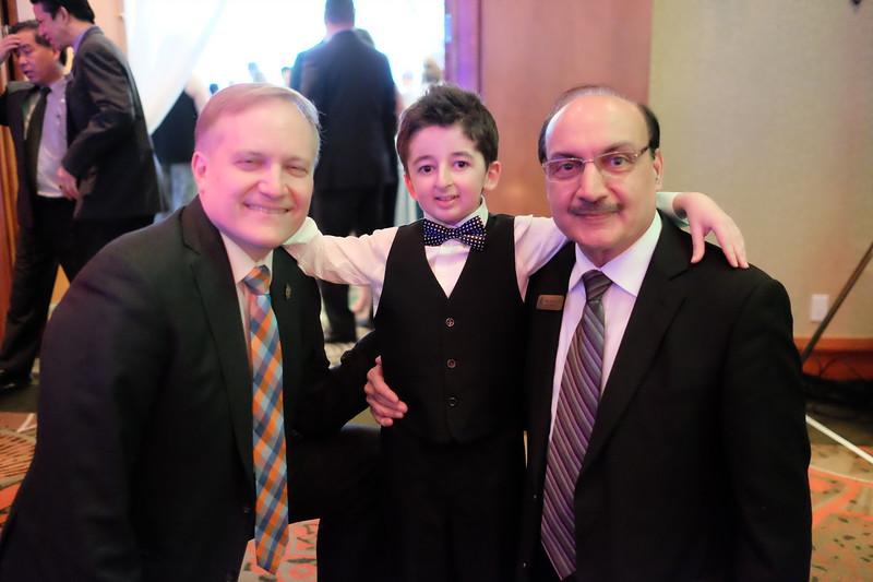 MP Peter Julian, Casey Wright and MLA Raj Chouhan