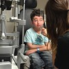 Casey Wright getting a checkup at BC Children's Hospital