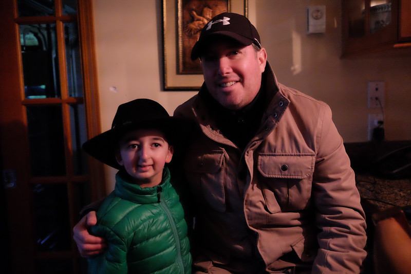 Executive Producer for E one Entertainment, Ira Pincus with Casey Wright