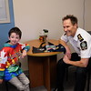 Casey Wright visits with Chief Constable Neil Dubord - Delta Police Department