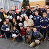 CBSA and other police services annual toy drive