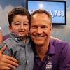 Chris Gailus with Casey Wright at BC Children's Hospital Miracle  Weekend Telethon