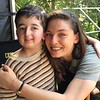 "Actress Alexa Davalos of ""Man in the High Castle"" with Casey Wright who played ""Bobby"" in season one."