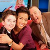 Casey Wright with Sophie Lui and Steve Darling at BC Global TV