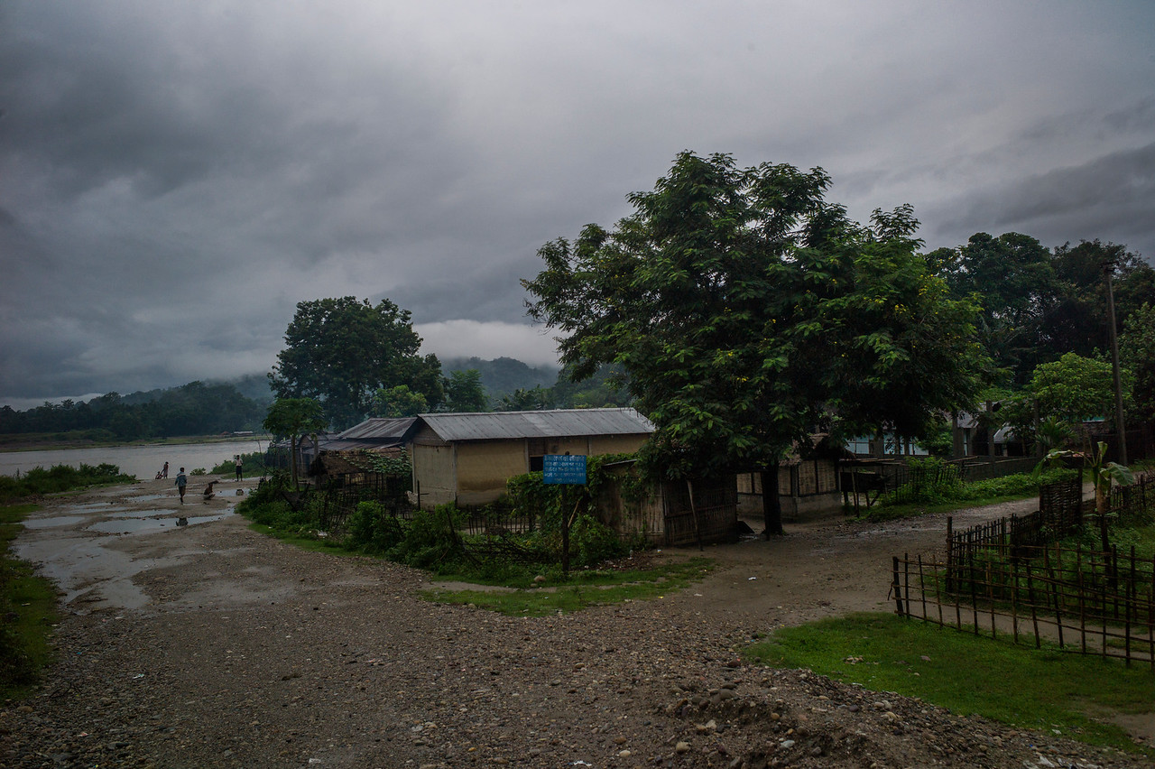 Dhemanji, Assam, India August,2014:   View of Simen Koi Bata village in Dhemanji District.   Series on early marriages in Assam, India for Al Jazeera America.       Photo:  Sami Siva