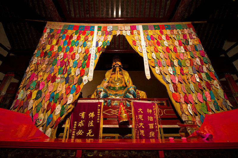 The Temple of the Seven Masters; a buddhist temple in Xitang.