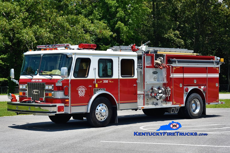 Crofton  Engine 350<br /> x-Basking Ridge, NJ<br /> 1992 E-One Protector TC 1500/500<br /> Greg Stapleton photo