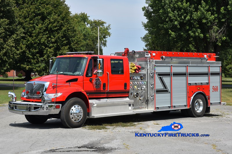 Fairview  Engine 560<br /> 2019 International 4400/Deep South 750/2000<br /> Greg Stapleton photo