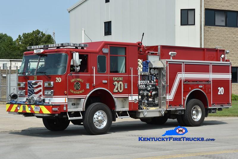 Fort Campbell Engine 20<br /> x-Engine 5<br /> 2014 Pierce Saber 4x4 1500/750/50<br /> Greg Stapleton photo