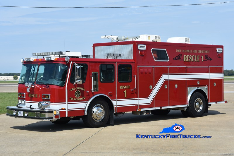 Fort Campbell Rescue 1 <br /> 2003/2018 E-One Hurricane <br /> Greg Stapleton photo