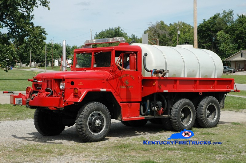 <center> Hopkinsville  Brush 971 <br> x-US Army <br> 1970 AM General M35 6x6/GFD 250/1200 <br> Greg Stapleton photo </center>