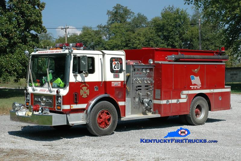 <center> Herndon  Engine 1451  <br> x-Goodlettsville, TN <br> 1984 Mack MC/Ward 79 1000/1500 <br> Greg Stapleton photo </center>
