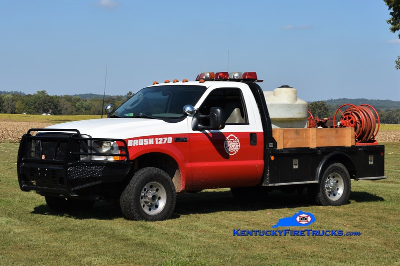Highland  Brush 1270<br /> 2003 Ford F-350 4x4/CMTB/FD 250/250<br /> Greg Stapleton photo
