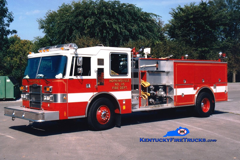 <center> Hopkinsville  Reserve Engine <br> 1991 Pierce Dash 1500/750 <br> Greg Stapleton photo </center>