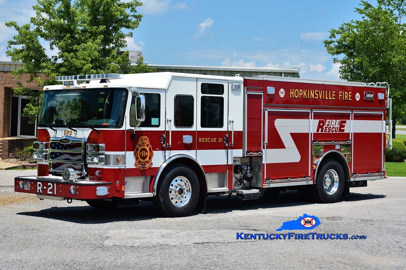 Hopkinsville  Rescue 21<br /> 2018 Pierce Enforcer 1500/1000<br /> Greg Stapleton photo