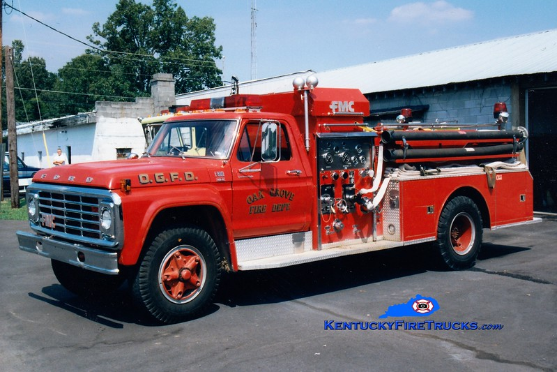 <center> RETIRED <br> Oak Grove Engine 252 <br> 1979 Ford F-800/FMC-Bean 750/500 <br> Greg Stapleton photo </center>