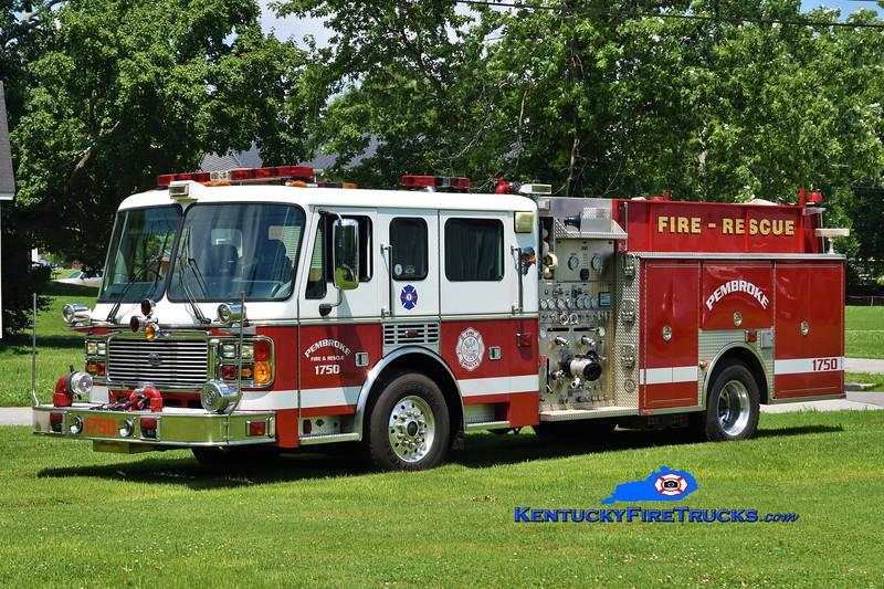 Pembroke  Engine 1750<br /> x-Cockeysville, MD<br /> 2002 American LaFrance Eagle 1750/1000<br /> Greg Stapleton photo