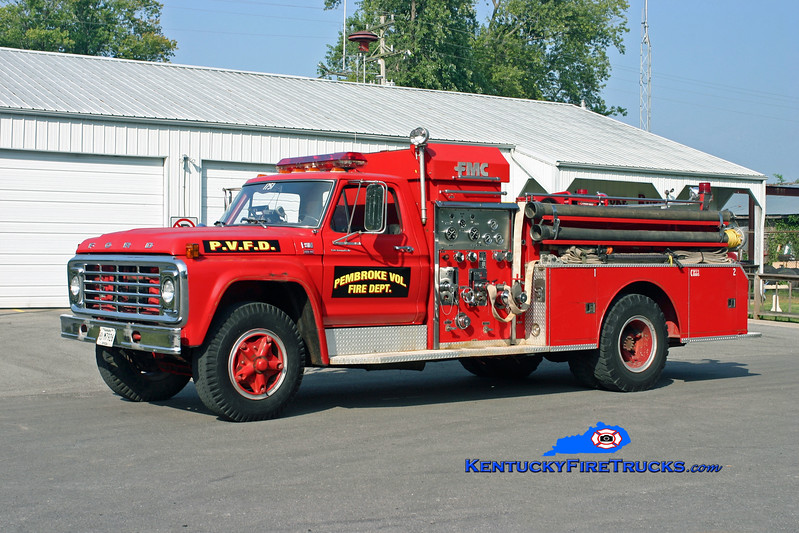 <center> RETIRED <br> Pembroke  Engine 1751  <br> x-Oak Grove, KY <br> 1979 Ford F-800/Bean-FMC 750/500 <br> Kent Parrish photo <br> </center>