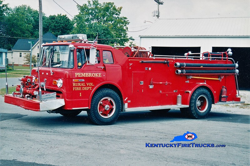 RETIRED <br /> Pembroke  Engine 1<br /> 1972 Ford C/Sutphen 750/1000<br /> Greg Stapleton photo