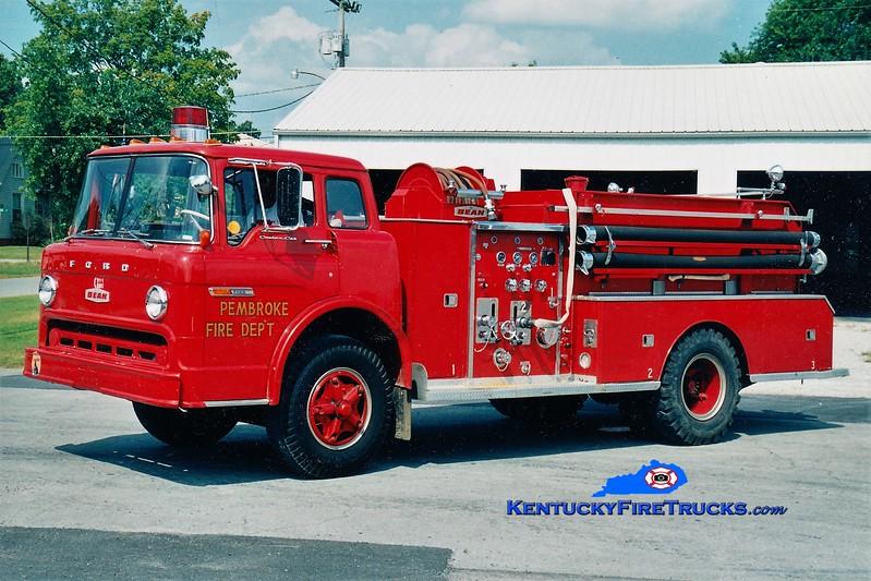 RETIRED <br /> Pembroke  Engine 2<br /> 1973 Ford C/FMC-Bean 750/500<br /> Greg Stapleton photo