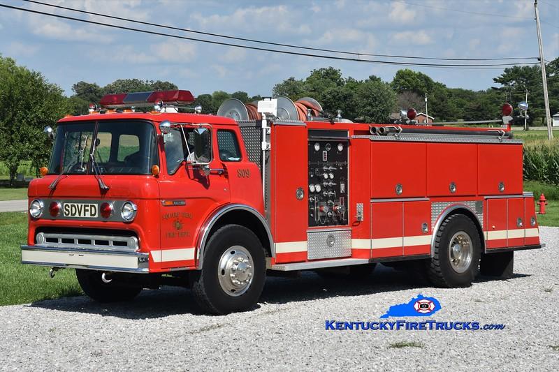 Square Deal  Engine 809<br /> 1987 Ford C-8000/American Eagle 500/2000<br /> Greg Stapleton photo
