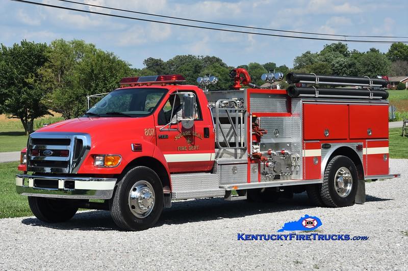 Square Deal  Engine 807<br /> 2005 Ford F-750/E-One 1250/1000<br /> Greg Stapleton photo