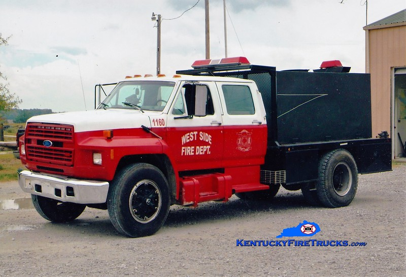 RETIRED <br /> West Side  Tanker 1160<br /> 1990 Ford F/Local 50/1300<br /> Greg Stapleton photo