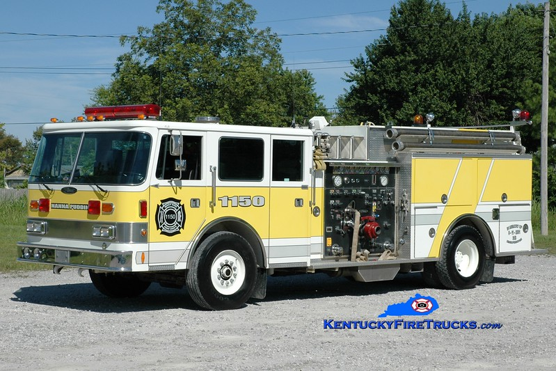 <center> West Side  Engine 1150  <br> x-Newberry Twp (York County), PA <br> 1990 Pierce Arrow 1250/750 <br> Glider rebuild of 1976 Seagrave <br> Greg Stapleton photo </center>