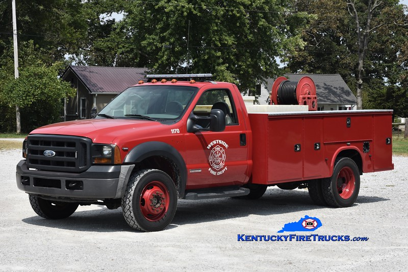 Westside  Brush 1170<br /> 2006 Ford F-350 4x4/Knapheide 250/250<br /> Greg Stapleton photo