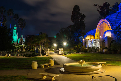 Balboa Park Botanical Garden And The California Tower